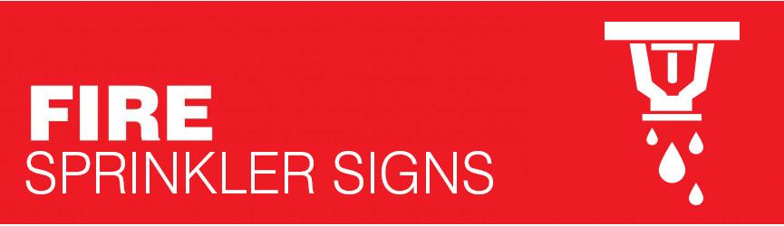 Fire Sprinkler Signs