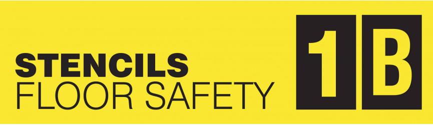 Floor Safety Stencils
