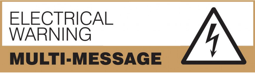 Electrical Warning Multi-Message