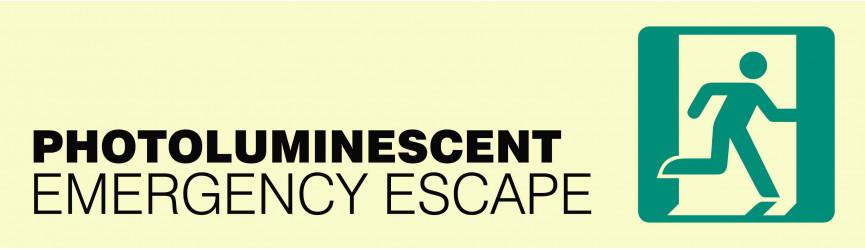 Photoluminescent Emergency Escape