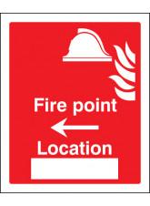 Fire Point Arrow Left Location