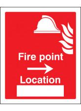 Fire Point Arrow Right Location