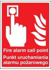 Fire Alarm Call Point (English / Polish)