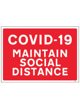 COVID-19 - Maintain Social Distance