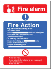 Fire Action / call Point without Lift