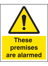 These Premises Are Alarmed
