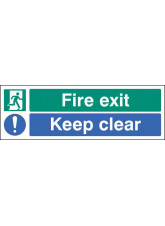 Fire Exit - Keep Clear