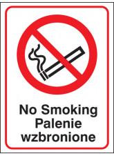 No Smoking (English / Polish)