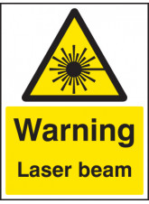 Warning Laser Beam