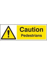 Caution Pedestrians