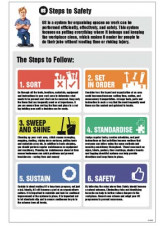 6S Steps to Safety Information Poster