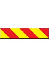 Vehicle Hazard Panel - Reflective Magnetic - 700 x 140mm