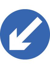 Keep Left - Class R2 Permanent