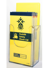 Wall Mounted Leaflet Dispenser (1 / 3rd A4) 109 x 159 x 65mm