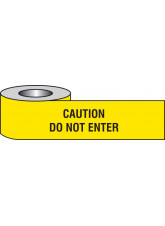 Caution Do Not Enter Barrier Tape