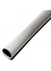 Grey Galvanised Steel Pole Powder Coated 2.5 Metre x 50mm