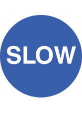 Slow - Floor Graphic