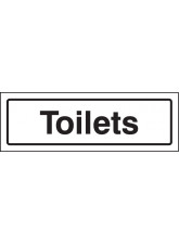 Toilets - Visual Impact Sign