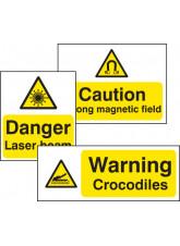 Standard Special Warning Sign - Rigid PVC