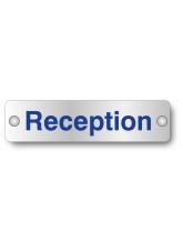 Reception - Visual Impact - Aluminium Door Sign