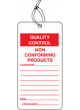 QC Tag - Non Conforming Product (Pack of 10)