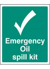 Emergency Oil Spill Kit