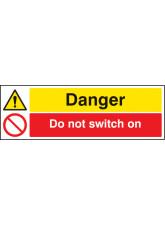Danger Do Not Switch On