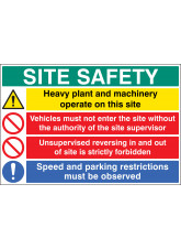 Site Safety - Heavy Plant and Machinery