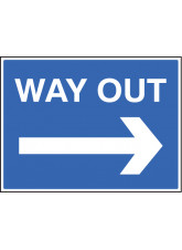 Way Out - Arrow Right
