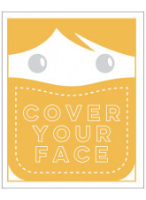 Cover Your Face - Orange